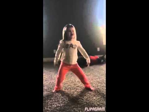 Toddler Inspires Her Pitbull Brother To Do Cartwheels With Her!