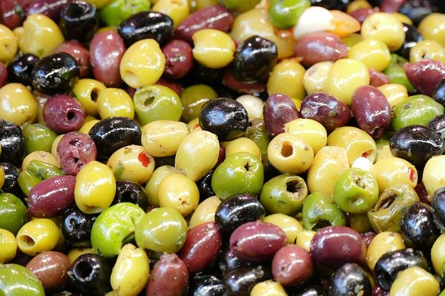 can dogs have black olives