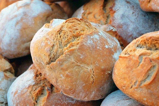 dozens of bread