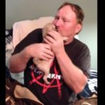 After The Loss Of Their Beloved Dog, A Wife Surprises Her Husband With A Pug Puppy!