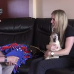 New Baby Pug Surprises Woman For Her Birthday!