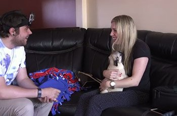 New Baby Pug Surprises Woman For Her Birthday FI